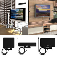 ANTV Indoor Amplified Digital HD HDTV TV Antenna with Stand UHF VHF FM