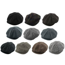 Winter Warm Vintage Style Newsboy Ivy Cap Driving Golf Elastic Flat Beret Hat