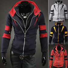 HOT Men's Casual Fashion Slim Fit Sexy Designed Hoodies Sweaters Jackets Coats '