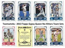 2013 Topps Gypsy Queen No Hitters Baseball Set ** Pick Your Team **