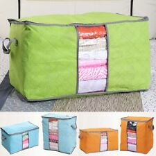 New Foldable Storage Bag Clothes Blanket Closet Sweater Organizer Box Household