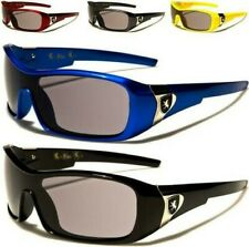 NEW CHILDRENS SUNGLASSES KIDS BOYS GIRLS DESIGNER BLACK BLUE WRAP SHIELD SPORTS