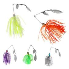 Hard Bait 15g Fishing Lures Spinner Beard Scale Bass Pike JJig Tackle Hooks