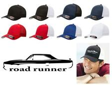 1970 Plymouth Road Runner Hardtop Classic Color Outline Design Hat Cap