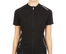 Women's 2XU Road Comp Cycle Jersey - Black