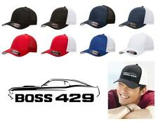 1969 Ford Boss 429 Mustang Classic Car Color Outline Design Hat Cap