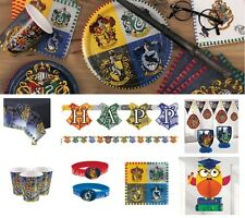 Harry Potter Party Decorations Birthday Tableware Plates Cup Napkins Swirls Loot