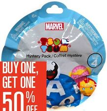 Buy 1 Get 1 50% Off--Add 2 to Cart Tsum Tsum Marvel Series 4 Mystery Stack Pack
