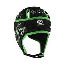 Optimum Sport  Inferno Headguard Rugby Head Protection-Green