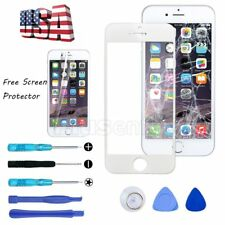 """Front Outer Screen Glass Lens Replacement for iPhone 6 6S 4.7"""" White"""
