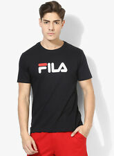 Fila Eagle Black Round Neck T-Shirt