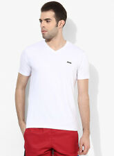 Fila Cove White V Neck T-Shirt