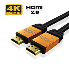High Quality HDMI Cable 4K V2.0 60Hz 3D 1080P- HDTV LCD LED XBOX PS4 BLUERAY