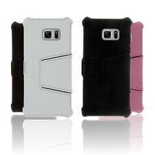Case for Samsung Galaxy Note FE Flipcover Leather-Case  + glass film