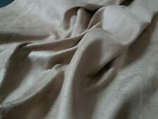 GREY - SUEDE - Fabric Material Cloth - CLOTHING & UPHOLSTERY - 220gsm/180cm wide