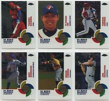 2009 Topps Chrome WBC Base Cards, Refractors & Blue Refractors (You Pick $1-$6)