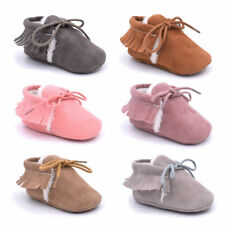 Booties Snow Boots Infant Toddler Newborn Girl Boy Soft Sole Crib Shoes E0083