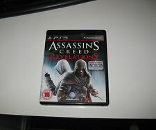 Assassins Creed Revelations Playstation 3  PS3 Game