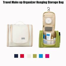 Portable Makeup Bag Cosmetic Bag Travel Make up Organizer Hanging Storage Bag AU
