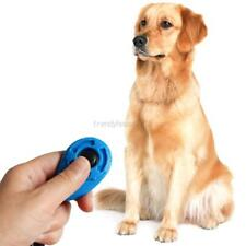 AU Pet Dog Click Training Button Puppy Clicker Obedience Wrist Strap Trainer Aid