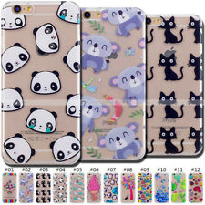 Shockproof Slim Back TPU Cute Rubber Skin Cover Soft Case For Apple iPhone 6 /6S