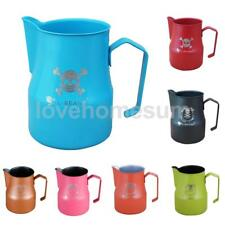 Various 550ml Skull Milk Frothing Jug Latte Pitcher Steaming Barista Tool