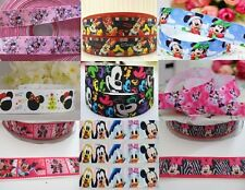 Disney Mickey and Minnie Mouse Grosgrain Ribbon - 22mm 25mm - Buy 3 get 1 free