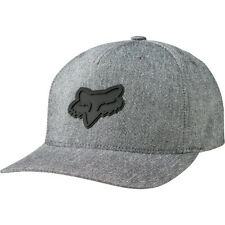 Fox Racing Heads Up 110 Snapback Mens Headwear Cap - Heather Grey One Size