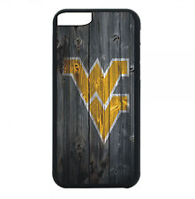 West Virginia Mountaineers Phone Case For iPhone X 8 8+ 7 6 PLUS 5 4 Black Cover