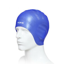 Adults Elastic Silicone Swimming Swim Cap Hair Protection Bathing Hat Ears US