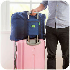 Travel Big Foldable Luggage Bag Clothes Storage Organizer Carry-On Duffle Bag