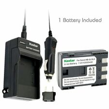 NB-2L Battery & Regular Charger for Canon HG10 HV20 HV30, Optura 30, Optura 40
