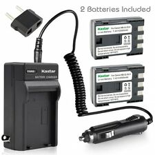 NB-2L Battery & Regular Charger for Canon PowerShot S30 S40 S45 S50 S60 S70 S80