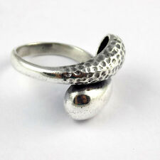 1 Pcs Beautiful 925 Sterling Snake Style Design Silver High Polished Lovely Ring