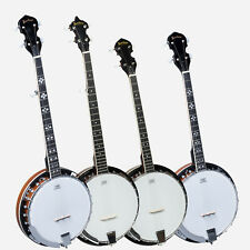 New Heartland Banjo, 5 String Banjo, 4 String tenor Banjo, Tenor Banjo With Case