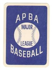 1980 APBA Extra Players Only Season Baseball Set ** Pick Your Team **