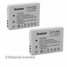 NB-5L Battery & Dual USB Charger for Canon PowerShot SX200 IS, SX210 IS,SX220 IS