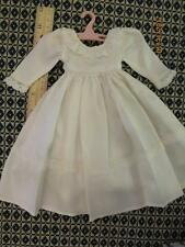 "Pretty Ca.1940  SATIN BRIDAL GOWN/DRESS For 14""-15"" Compo or Hard Plastic Doll"