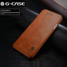 Genuine Leather Flip Wallet Card Case Cover For Samsung Galaxy Note 8 S8 Plus
