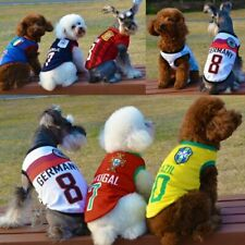 Soccer FIFA World Cup Apparal for Pet Dogs - Football Club Shirts - Team