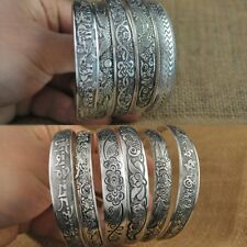 Tibetan Tibet Silver Totem Bangle Cuff Bracelet Hot Fashion Charm Girl Jewelry