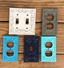 Cast Iron Metal Light Switch Cover Plate Farmhouse Lighting Antique Outlet Cover