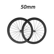 23mm Width 50mm Depth Clincher Road Bike Touring New Straight Pull Carbon Wheels