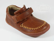 Camper Infant Boys Peu Creppe Tan Brown Leather Shoes UK 3 EU 19 RRP £46.00