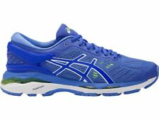 Asics Gel-Kayano 24 Blue White Women Max Support Running Shoes T799N-4840