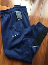 New Mens Nike ThermaFit HyperElite Basketball Training Pants #851963 Navy $80