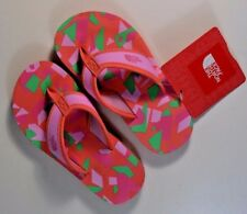 NWT GIRLS THE NORTH FACE Y BASE CAMP THONG FLIP FLOP SANDALS SZ 10