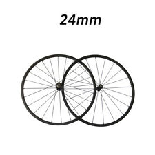 23mm Width 24mm Depth 700C Clincher Road Bike Bicycle Touring Carbon Wheelset