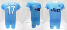 Set Immobile Lazio 2018 New Logo Official SS 2017 Shirt Shorts