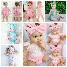 Cute Toddler Infant Newborn Baby Boy Girl Romper Bodysuit Jumpsuit Outfit Clothe